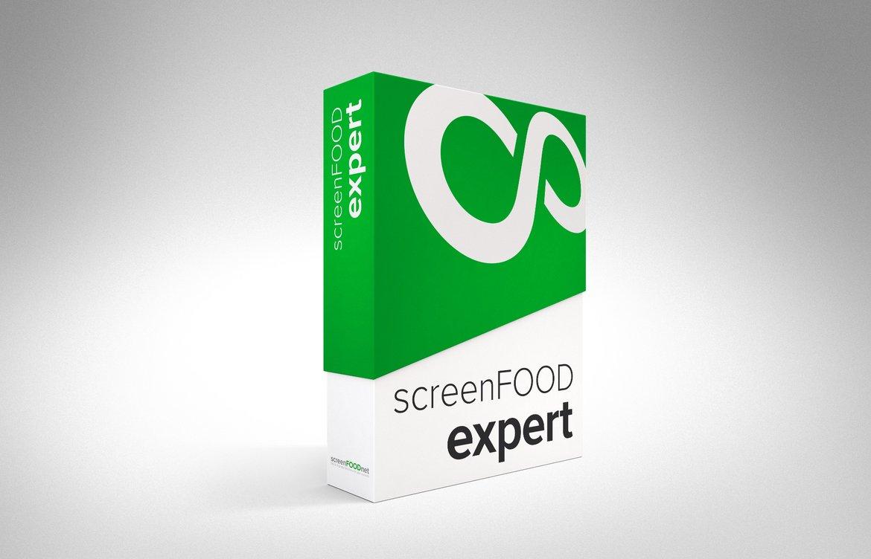 screenFOOD expert